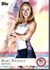 MARY WHIPPLE - 2012 OLYMPICS ROWING -  TOPPS #7