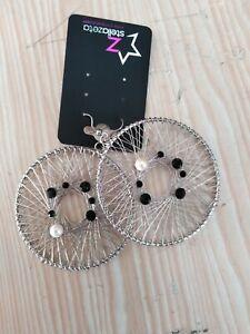 Orecchini pendenti filigrana argento