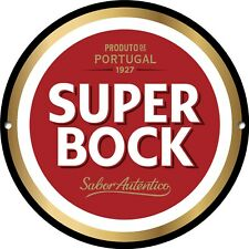 Super Bock Metal Sign, Portugal, Beer, Man Cave, Classic, Bar Decor, 1261