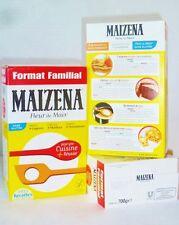 MAIZENA sans gluten la farine de maïs fleur de maïs pur amidon de maïs Lier & Mors 2x700g