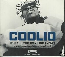 It's All the Way Live (Now) [Single] by Coolio (CD Single, May-1996, Tommy Boy)