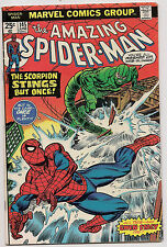Amazing Spider-Man 145 1st Print Gwen Stacey CLONE 1975 SCORPION VF OOP Blu Ray