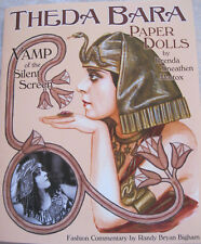 THEDA BARA Paper Dolls--Sultry Vamp of the Silent Screen w/ 15 Gorgeous Costumes