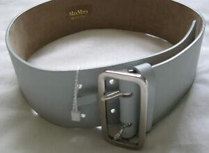 Max Mara Accorta Leather Belt, size S