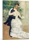 ARTCANVAS Dance in the City 1883 Canvas Art Print by Pierre-Auguste Renoir