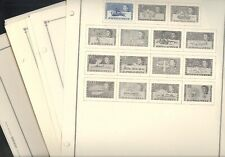 BRITISH ANTARCTICA TERRITORY, Mint Stamps mounted on Scott International pages