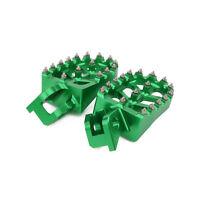 CNC Foot Pegs Pedals Rests Footpegs For Kawasaki KX125 KX250 1997-01 KX500 88-90