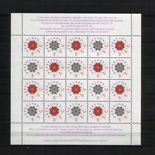 NEDERLAND; NVPH V1542/1543 kerstvelletje POSTFRIS/**/ MNH