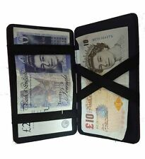 Koskin Leather Magic Puzzle Wallet Taxi Drivers Traders Bus Milkmen Blk Burg Brn