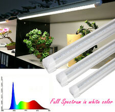 Indoor Plant Full Spectrum T8 24inch White LIght Led Grow Light Tube Pack of 4