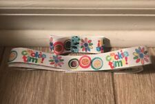 """Girl Scouts - Cookie Time Ribbon - 7/8"""" & 1.5"""" - Brand New"""