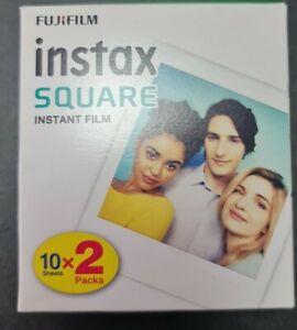 Fujifilm instax Square Instant Film (20 Exposures) 10 Sheets X 02 pack