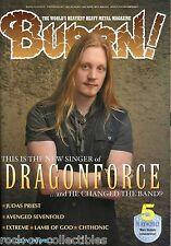 Burrn! Heavy Metal Magazine May 2012 Japan Dragonforce Extreme Judas Priest