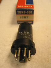 1 NOS Tung-Sol 6SH7 metal Radio tube tested