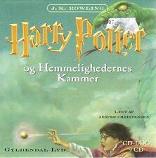 9 CD Harry Potter DÄNISCH Hörbuch - Og Hemmlighedernes Kammer