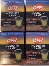 Off! Mosquito Lamp Insect Repellant LOT OF 4