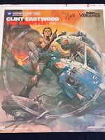 CLINT EASTWOOD THE GAUNTLET CED Capacitance Electronic Movie Disc