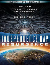 Independence Day: Resurgence (Blu-ray/DVD, 2016, 2-Disc Set)