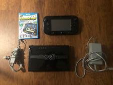 Nintendo Wii U 32GB Black Console With Nintendo Land