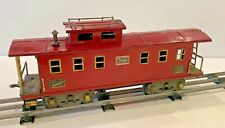 ORIGINAL AMERICAN FLYER #4021 STANDARD GAUGE RED CABOOSE, VERY NICE