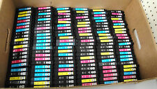LOT OF 300 EPSON T200/T288/T220/T252 MIX COLOR INK CARTRIDGE EMPTY/USED/GENUINE