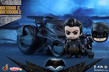 Hot Toys COSB228 Batman v Superman Dawn of Justice BATMOBILE Cosbaby + UNMASKED