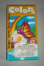 Watch n Learn - Colors (VHS Tape, 2000)