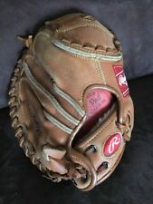 Rawlings Catcher Glove Mitt Mike Piazza RCM 45 Right handed Used Game Ready