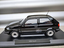 1:18 NOREV VW Golf 2 CL schwarz black Limited Edition NEU NEW
