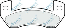 Arrière Plaquettes de frein pour LIGIER Be Up Genuine APEC PAD1497