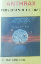 Anthrax - Persistence Of Time cassette tape