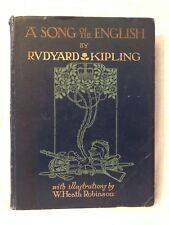 W Heath Robinson - A Song of The English - 1919 Hodder - 16 Illustrated Plates