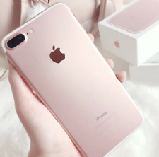Apple IPHONE 7 Plus - 32GB - (Libre) Rosa Oro - Excelente Estado