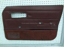 86 Jeep Cherokee 4 door Interior Trim panel Manual Windows Right passenger front