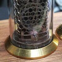 Rings for IN-14 IN-8 IN-8-2 Z570 Z573 Nixie Tubes Set of 4 Vintage Brass Ring