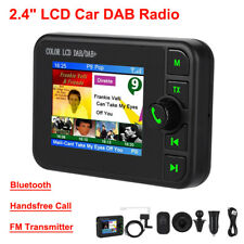 Coche Bluetooth Transmisor FM Radio DAB Digital reproductor de MP3 USB Cargador LCD Kit BT