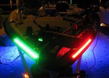 1 Ft Bow LED Submersible Marine Boat 12V Red Green Navigation Light Waterproof