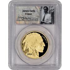 2014-W American Gold Buffalo Proof (1 oz) $50 - PCGS PR69 - First Strike- Fraser