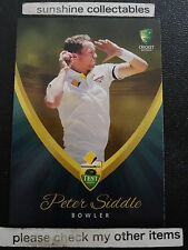 2015/16 TAP N PLAY CRICKET BASE CARD NO.11 PETER SIDDLE TEST