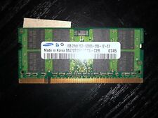 Samsung M470T2953EZ3-CE6 (1 GB, PC2-5300 (DDR2-667), DDR2 RAM, 667 MHz, SO DIMM