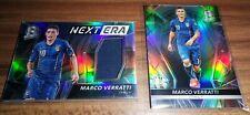 2016-17 Spectra Soccer Marco Verratti New Era Base Jersey PATCH /199 ITALY LOT