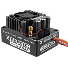 Corally C-53004-1 Revoc PRO Blk 2-6S BL ESC: 1/8 Snsred & Sensorless Motors 160A