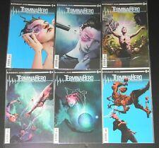 Dynamite comics Complete set Terminal Hero 1 2 3 4 5 6 NM FREE SHIPPING