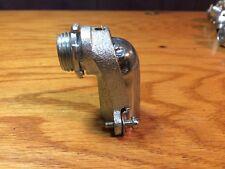 (60 Pcs) Electric Elbow Conduit Angle Connector