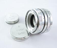 BIOTAR Russian Pentax Zenit M42 Copy Lens WHITE