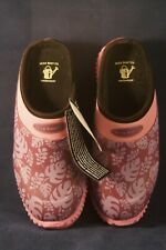 Muck Boot Company Daily Garden Clog Wineberry Palm Women's Size 4