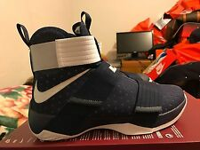 NEW NIKE LEBRON SOLDIER 10 SFG TB Size 9.5 Navy Blue Basketball shoes 844380-401
