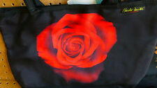 HAROLD FEINSTEIN DESIGN Tote Shoulder Bags ROSE on Back background ,  NEW