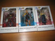 Final Fantasy X 10 Yuna Tidus Auron Play Arts Square Enix Action Figure Set