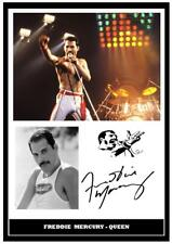 298. QUEEN FREDDIE MERCURY  SIGNED A4  PHOTOGRAPH ...++++++++